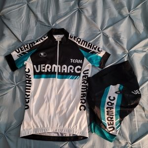 Vermarc Cycling Top & Bike Short Set